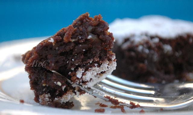 Caprese al cioccolato ricetta originale dolce napoletano vickyart arte in cucina