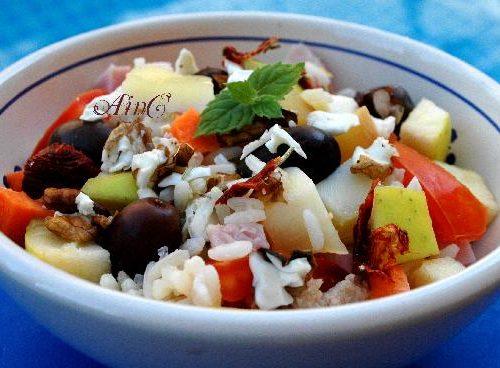 Insalata di riso ricette estive ingredienti senza glutine