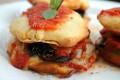 Sandwiches di melanzane alla parmigiana