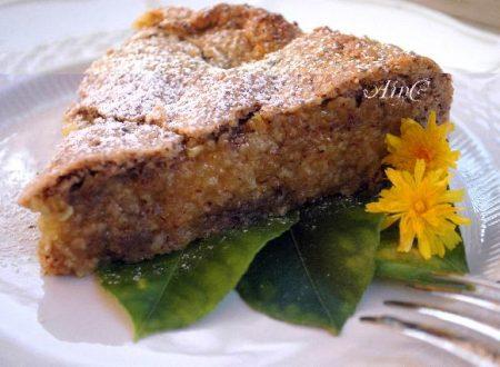 Torta-crostata crema di limone con grano saraceno