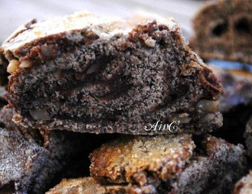 Girelle di grano saraceno al cioccolato