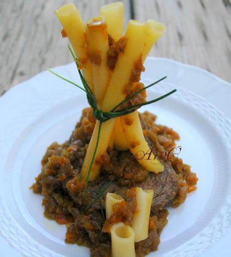 Ragù di carne alla genovese menu napoletano vickyart arte in cucina