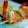 Spiedini di mare ricetta antipasto pesce vickyart arte in cucina