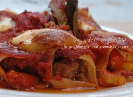 Cannelloni carne e peperoni senza glutine e i premi del contest