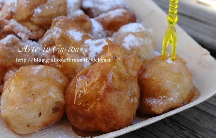 Frittelle dolci algerine o bignè di Roubay senza glutine