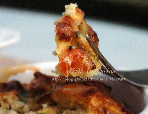 Pollo e peperoni, soufflè al forno senza glutine