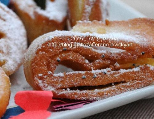 Fettuccine dolci di carnevale senza glutine
