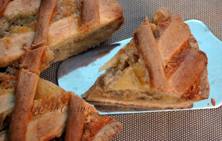 Pastiera napoletana con grano saraceno senza glutine