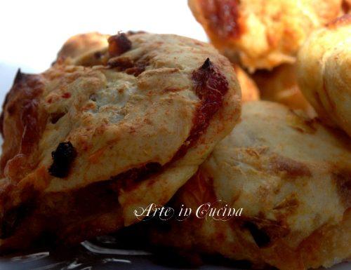 Pizzette ai peperoni con farina di kamut