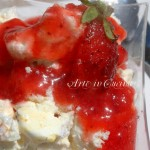 gelato-fragole-mandorle-arancia