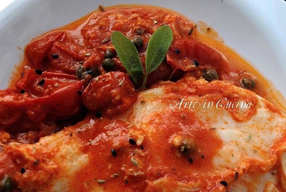 mozzarella e pomodoro in padella o al forno ricetta arte in cucina