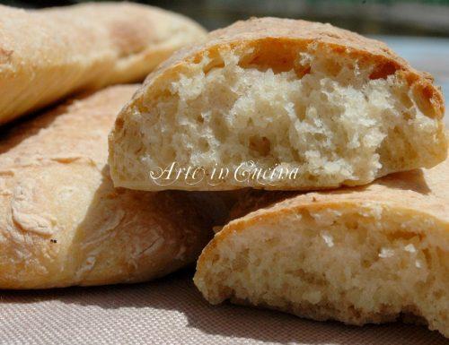 Pane veloce con farina integrale kamut con pasta madre