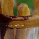 Churros spagnoli biscotti fritti ricetta facile vickyart arte in cucina