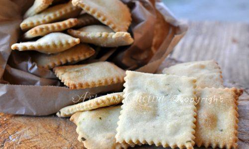 Crackers senza lievito veloci