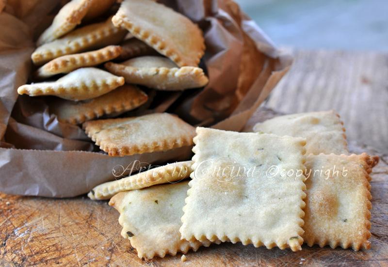 Crackers senza lievito veloci ricetta arte in cucina