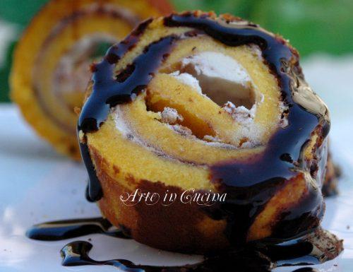 Girelle gelato caffè e cioccolato