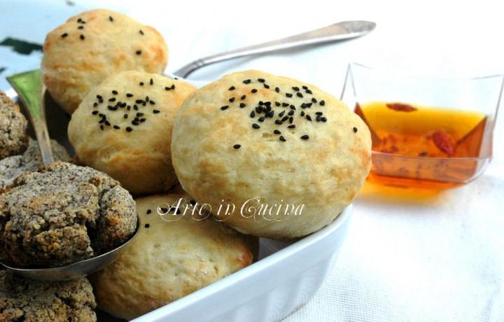 Puccette pugliesi, panini con grano saraceno per quanti modi di fare e rifare