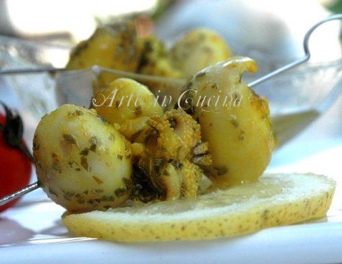 Seppioline al limone piatto light e veloce