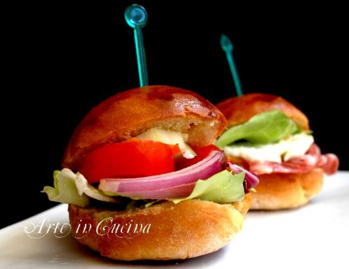 Panini finger food per feste e buffet