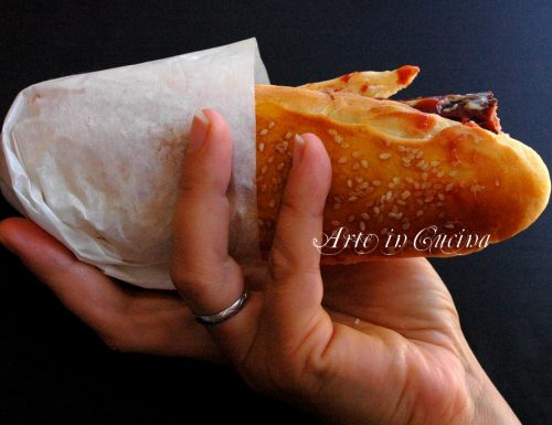 Panini soffici da hot dog per feste