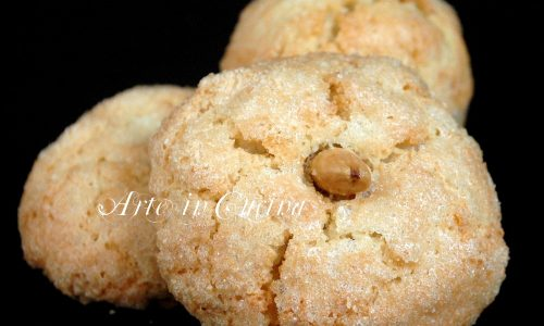 Amaretti sardi dolci veloci is amarettus