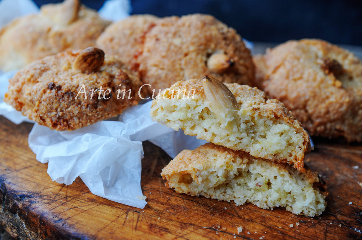 Amaretti sardi dolci veloci is amarettus vickyart arte in cucina