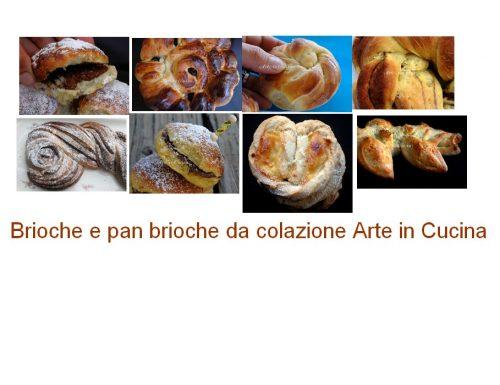 Brioche e pan brioche idee per colazione
