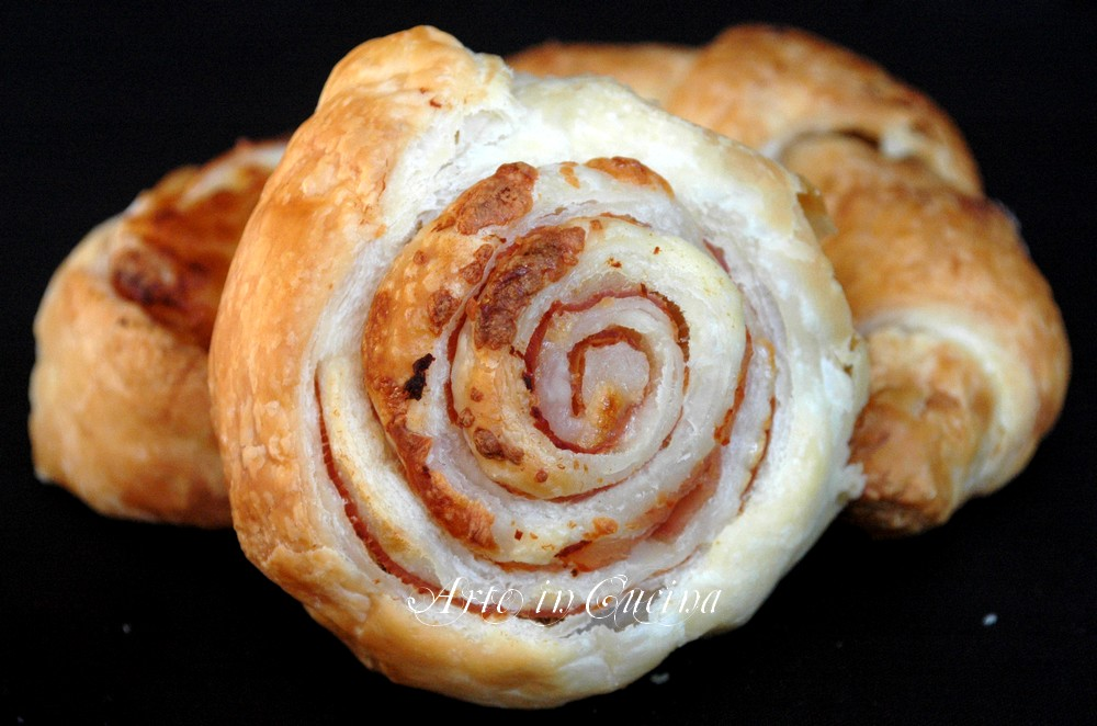 Assez Cornetti salati e girelle semplici e veloci | Arte in Cucina PE13