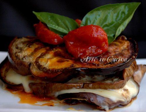 Melanzane e hamburger in padella o al forno