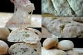 Pane rustico con cipolle veloce in un ora