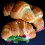Cornetti salati soffici e veloci da farcire vickyart arte in cucina