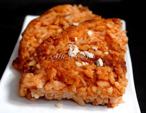 Frittata di riso al pomodoro