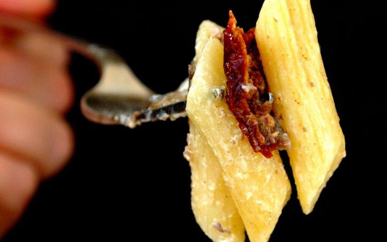 Pennette funghi panna e carne