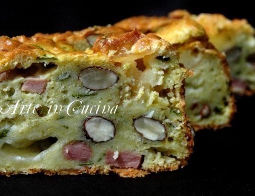 Plumcake salato con zucchine e provola