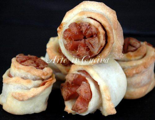 Rustici mignon wurstel e salame buonissimi