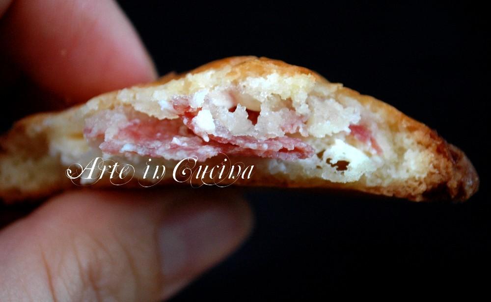 Rustici ricotta e salame con pasta frolla vickyart arte in cucina