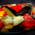 Teglia di verdure stufate e light