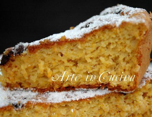 Torta zucca e arancia anche senza glutine