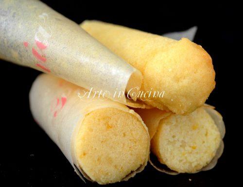 Cartucce dolci alle mandorle ricetta napoletana