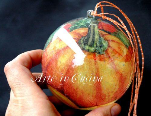 Decorazioni halloween palle decorate