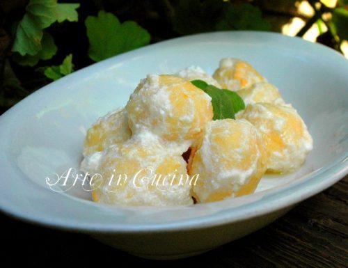 Gnocchi di semolino alla zucca ricetta facile