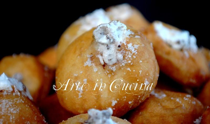 Krapfen panna e cioccolato  ricetta facile e veloce arte in cucina