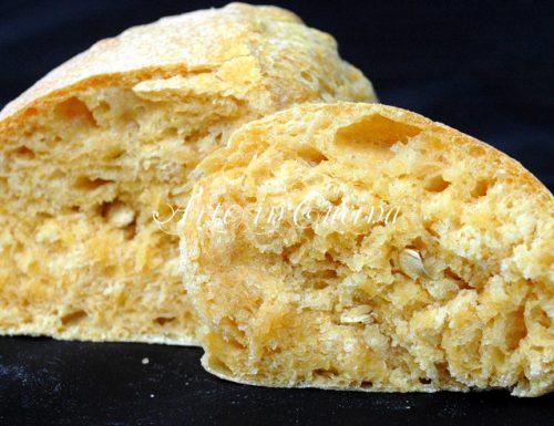 Pane con patate e zucca ricetta facile