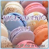 Raccolta ricette per il ricendario 2013