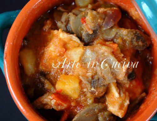 Spezzatino patate e funghi ricetta facile