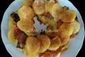 Torta di patate al forno con verdure ricetta salata
