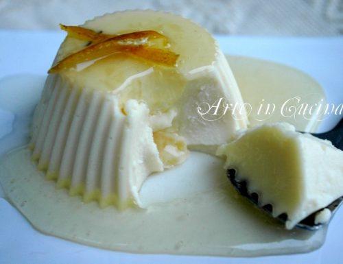 Panna cotta al limone ricetta dolce veloce