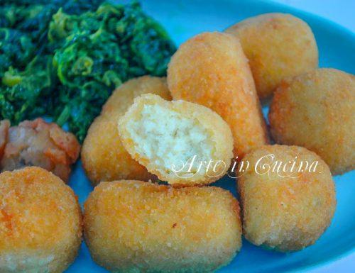 Baccala fritto e crocchette ricetta cenone