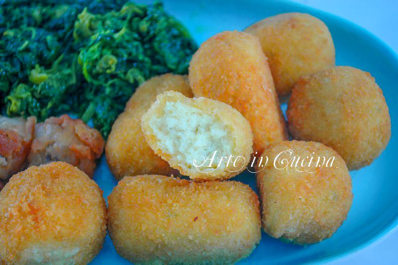 Baccala fritto e crocchette ricetta cenone vickyart arte in cucina