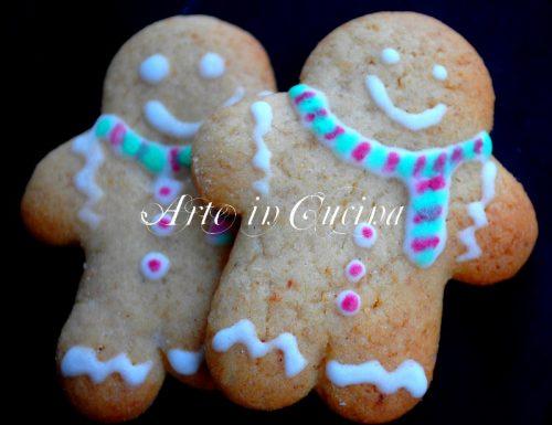 Omino di pan di zenzero ricetta biscotti natalizi